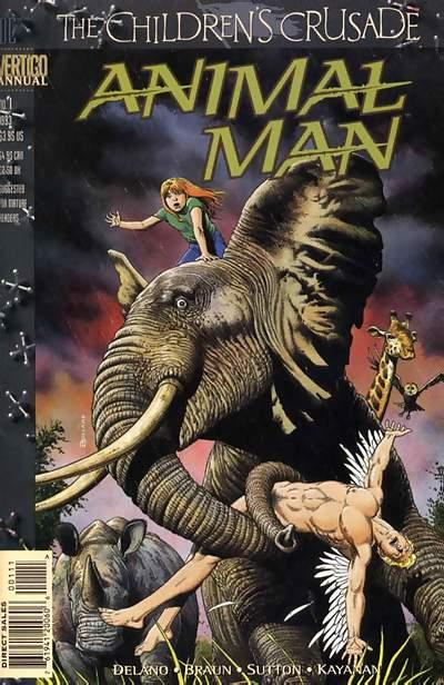 Animal Man Annual Vol 1 1