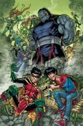Challenge of the Super Sons Vol 1 2 Textless Variant