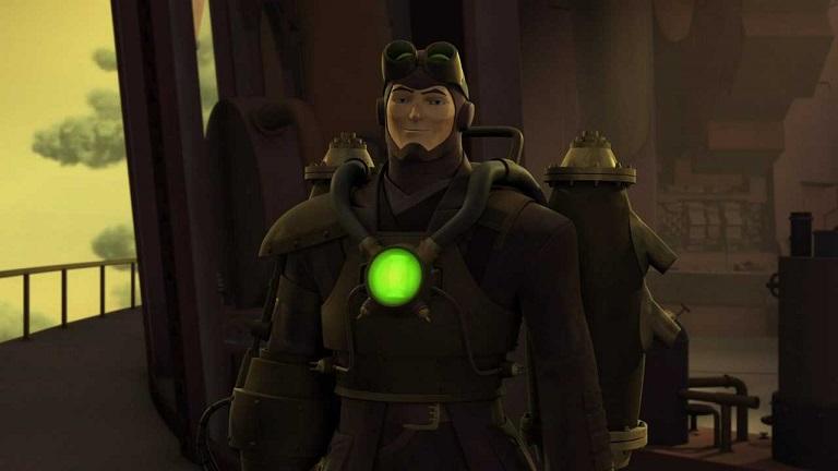 Gil Broome (Green Lantern Animated Series)