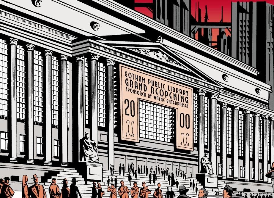 Gotham City Public Library