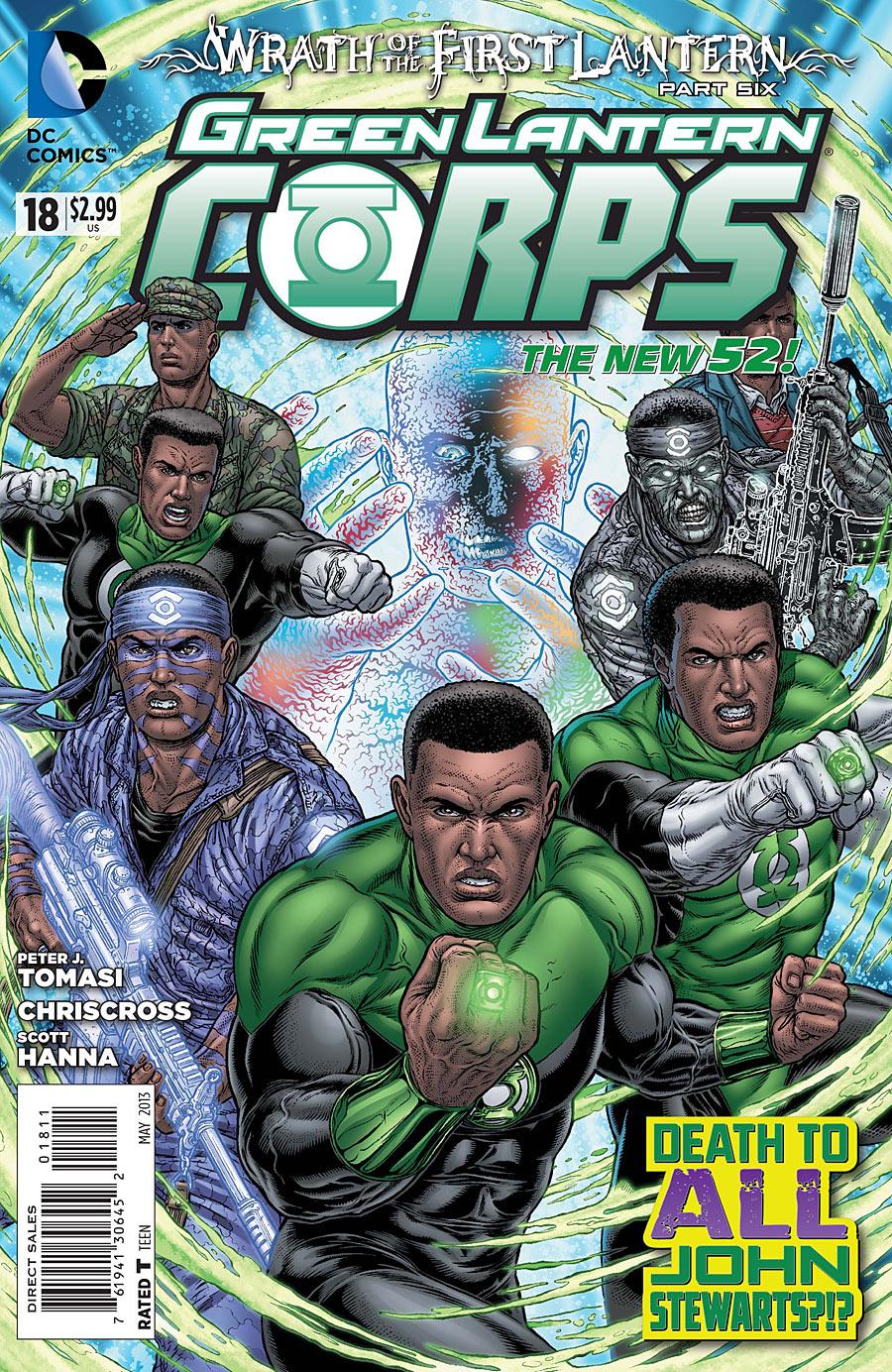 Green Lantern Corps Vol 3 18