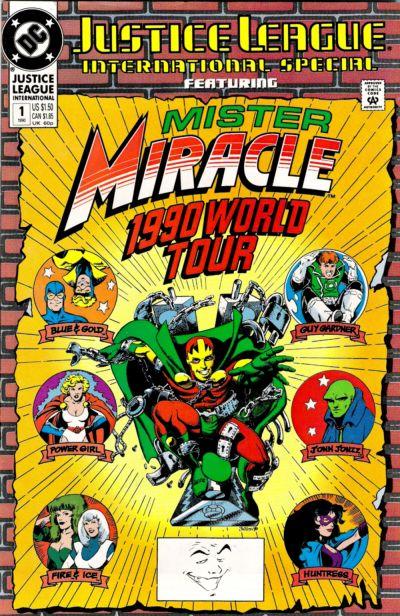 Justice League International Special Vol 1 1