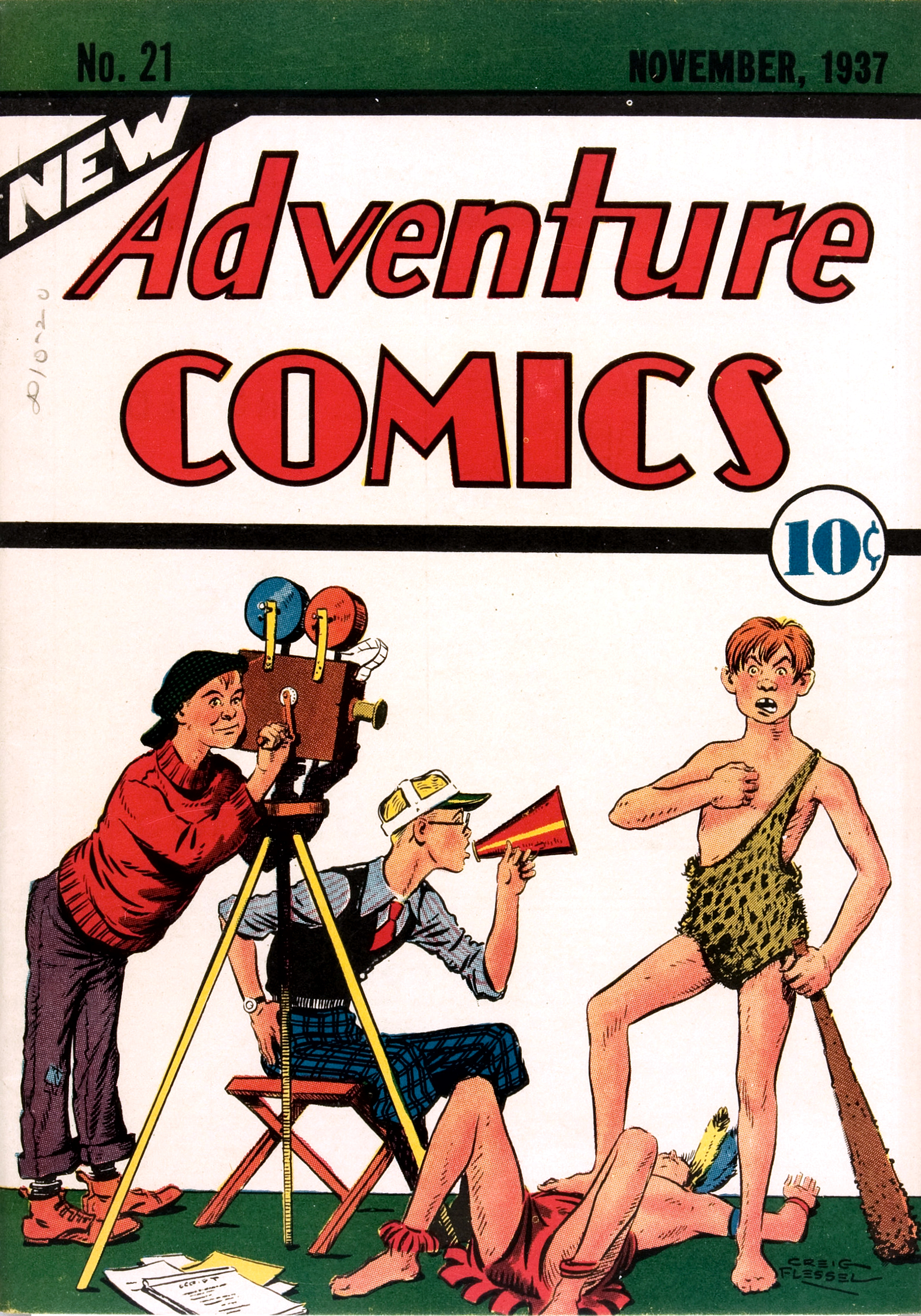 New Adventure Comics Vol 1 21