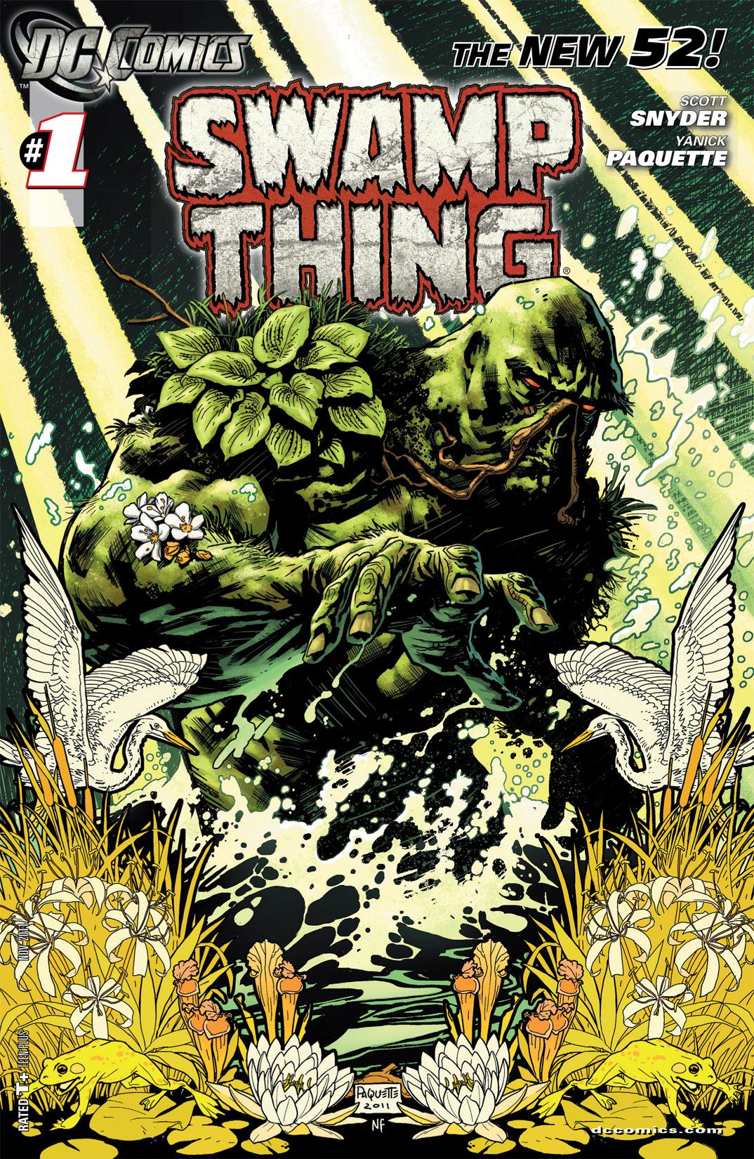 Swamp Thing Vol 5 1