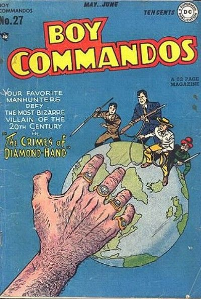 Boy Commandos Vol 1 27