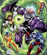 Fatal Five Superboy's Legion 001