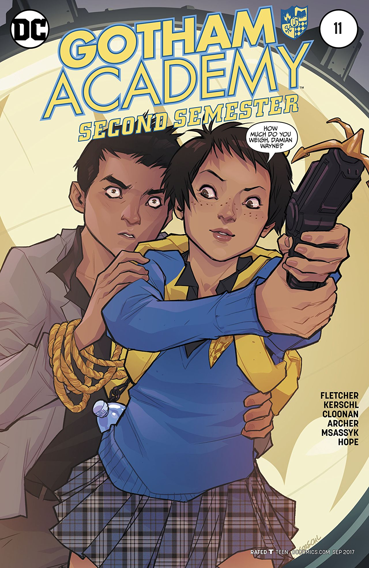 Gotham Academy: Second Semester Vol 1 11