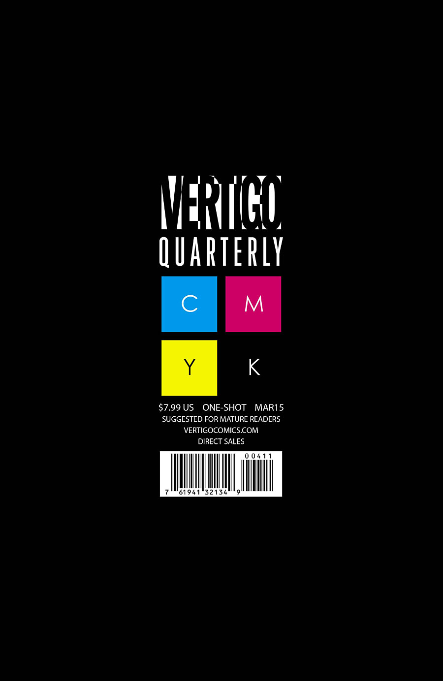 Vertigo Quarterly: Black Vol 1 1