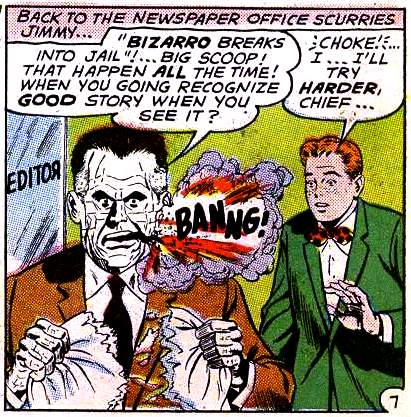 Bizarro Perry White (Earth-One)