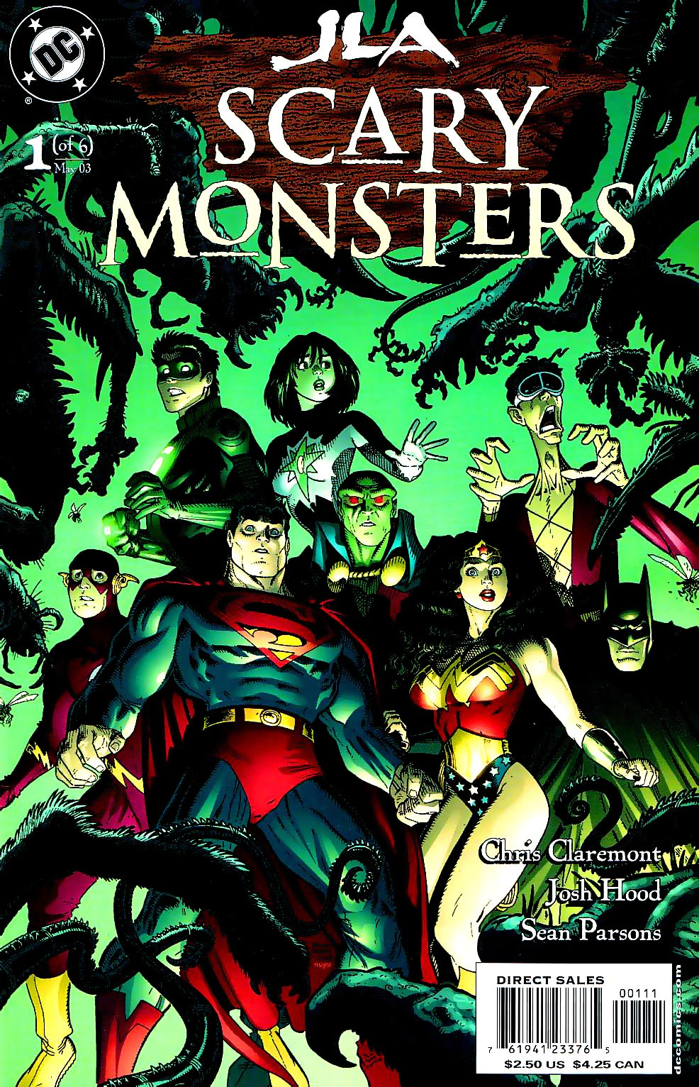 JLA: Scary Monsters Vol 1