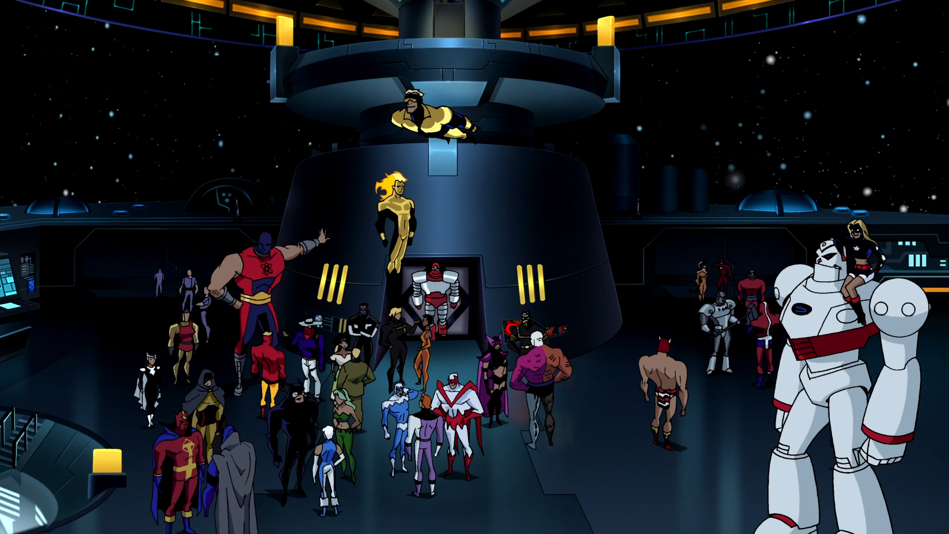 Justice League Unlimited (TV Series) Episode: Initiation