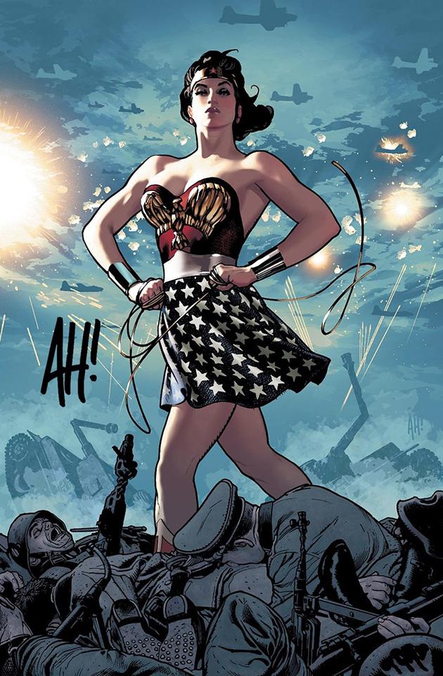 Wonder Woman Vol 1 750 Comic Sketch Art - Adam Hughes Virgin Variant Cover.jpg