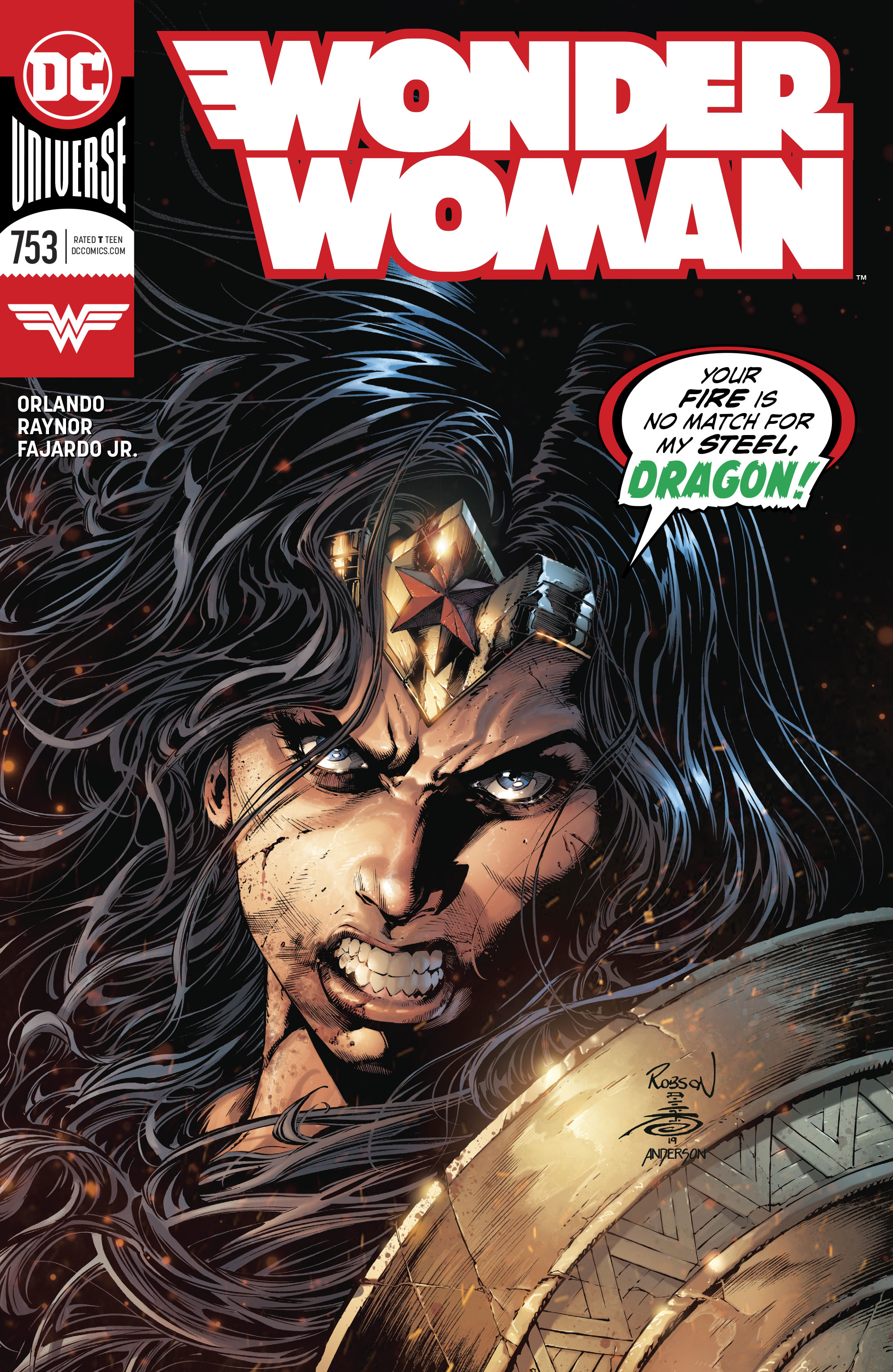 Wonder Woman Vol 1 753