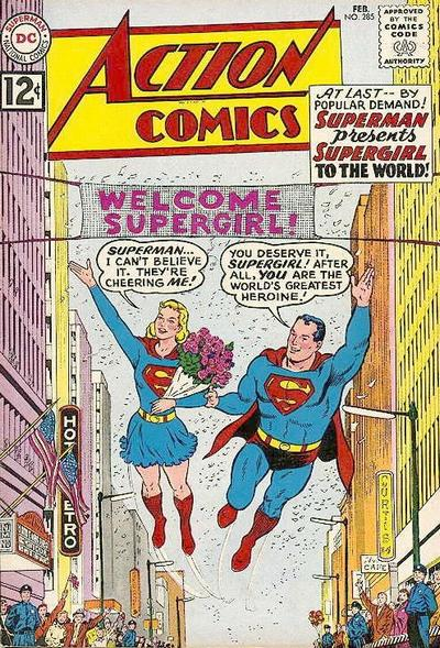 Action Comics Vol 1 285