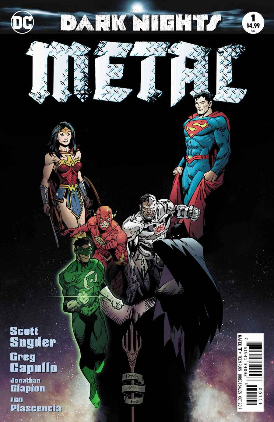 Dark Nights: Metal Vol 1 1