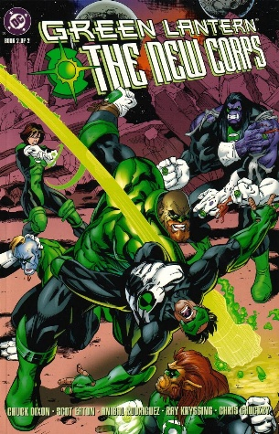 Green Lantern: The New Corps Vol 1 2