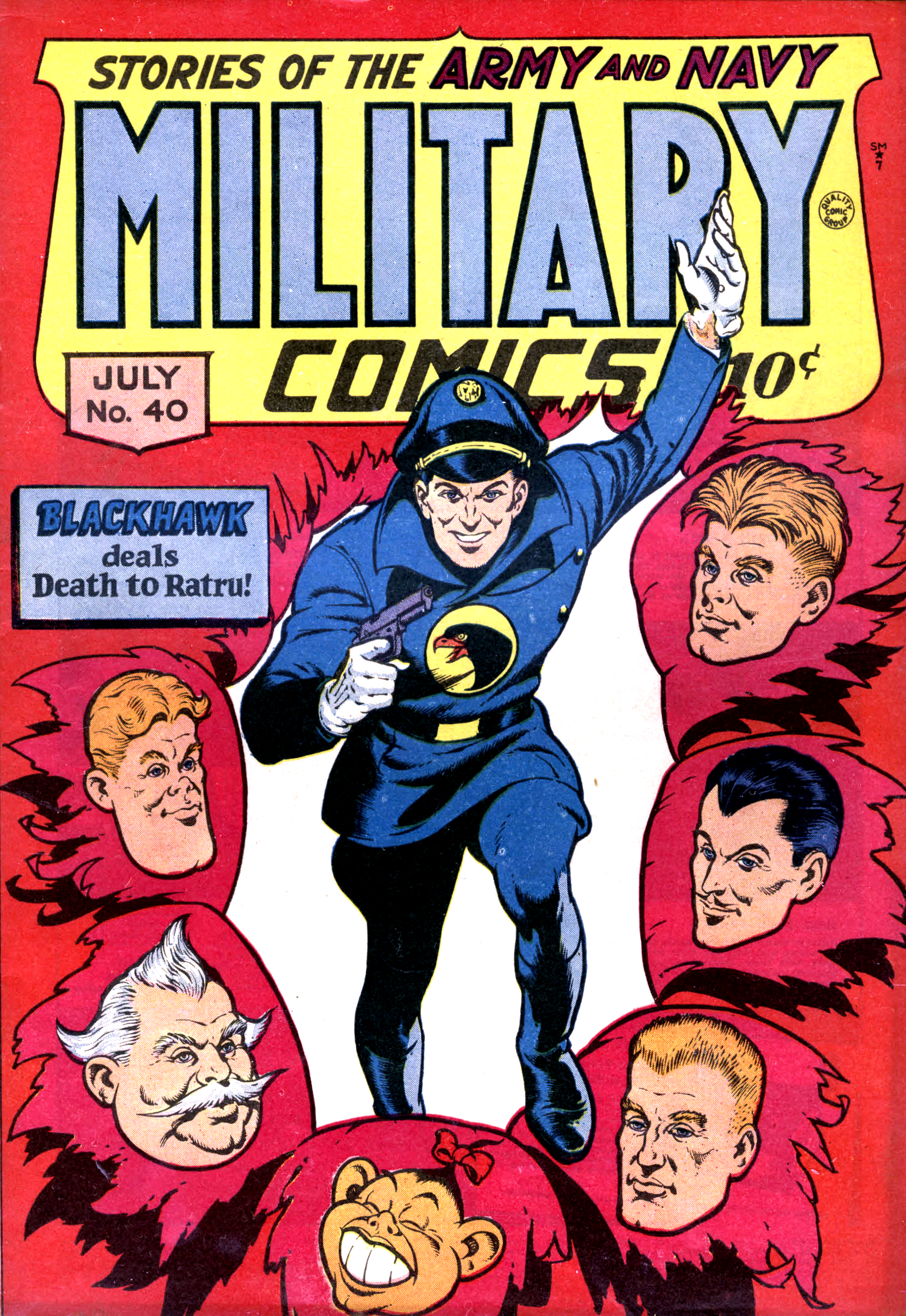 Military Comics Vol 1 40