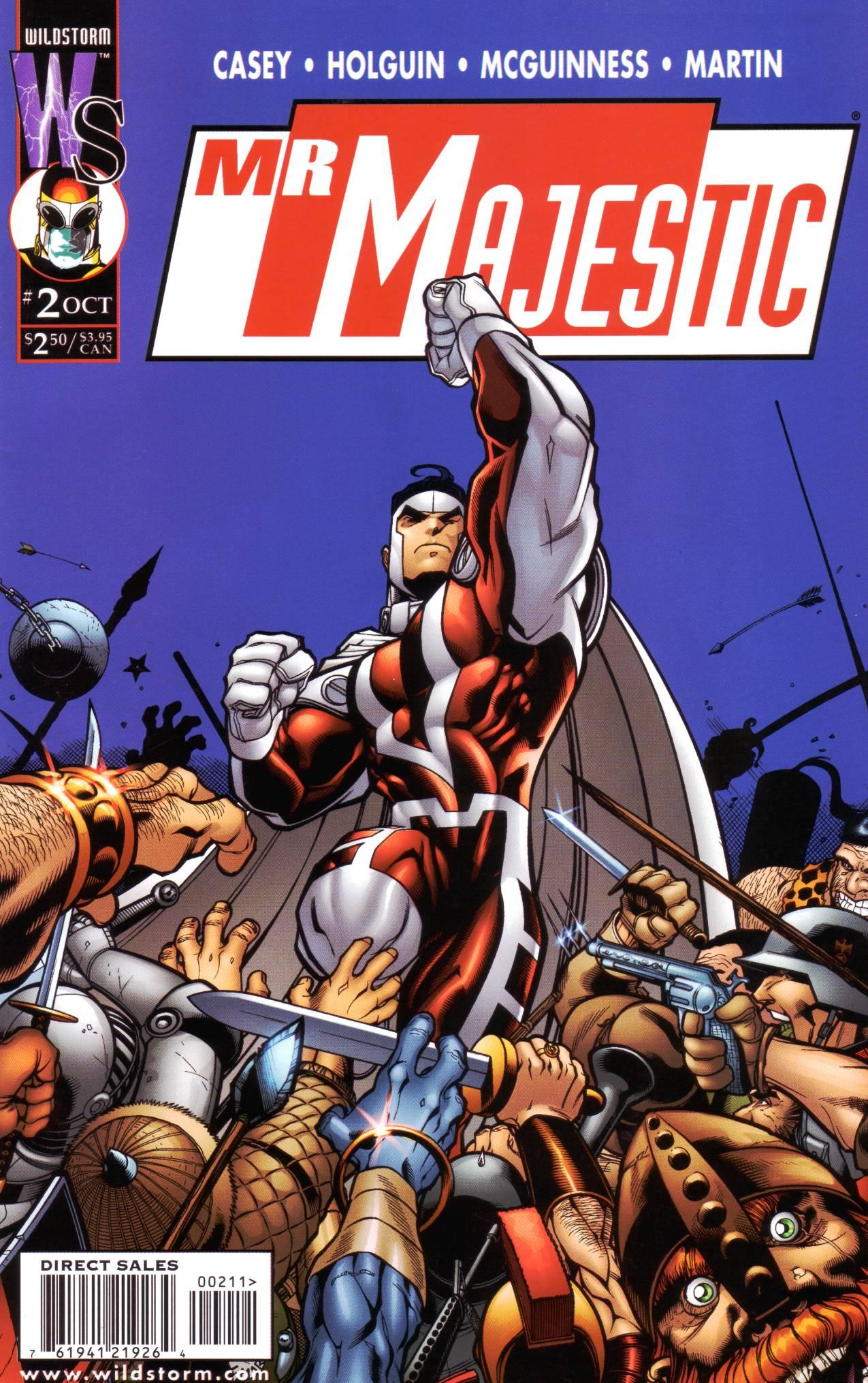Mr. Majestic Vol 1 2