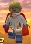 Power Girl Lego Batman 001