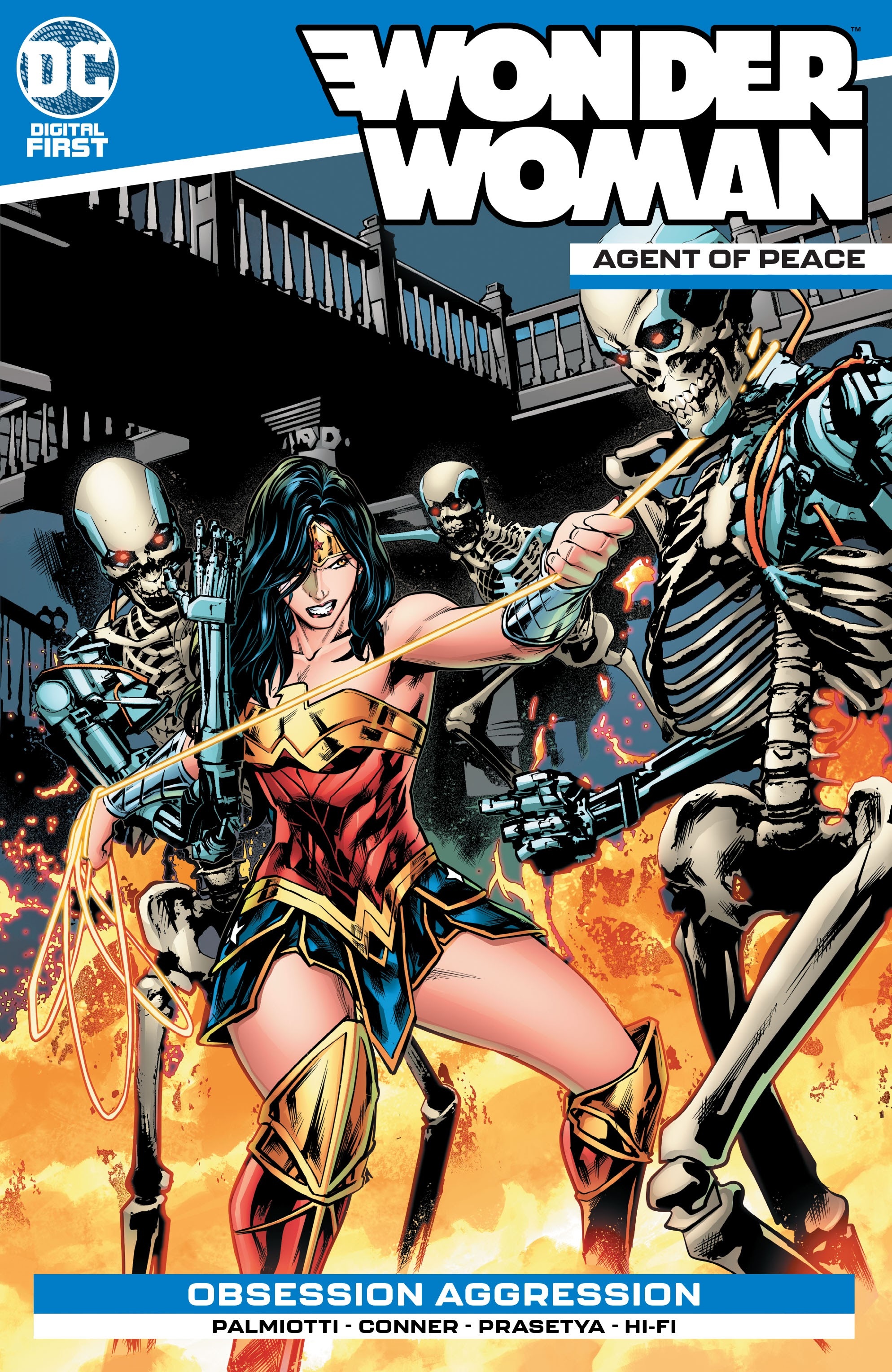 Wonder Woman: Agent of Peace Vol 1 9 (Digital)