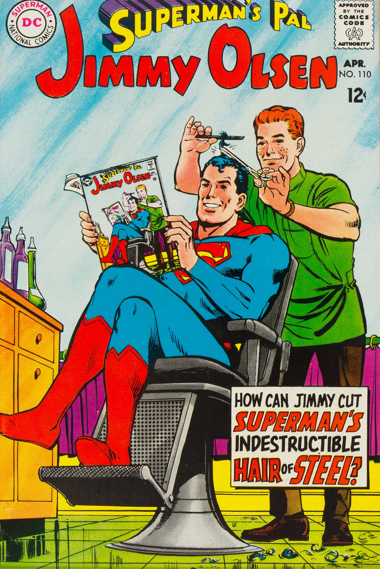 Superman's Pal, Jimmy Olsen Vol 1 110
