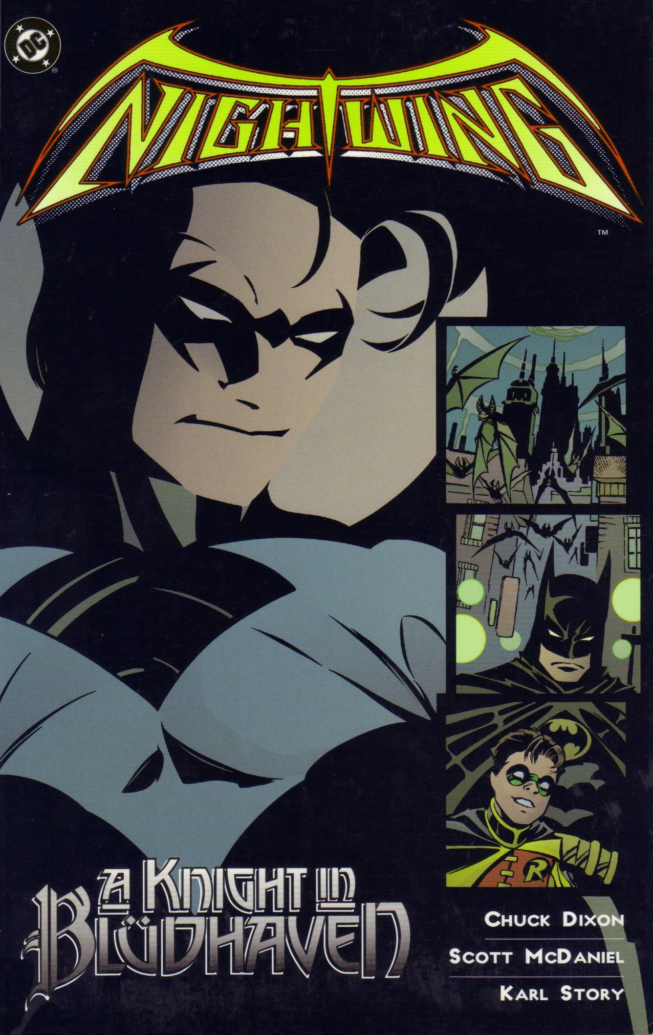 Nightwing: A Knight in Blüdhaven (Collected)