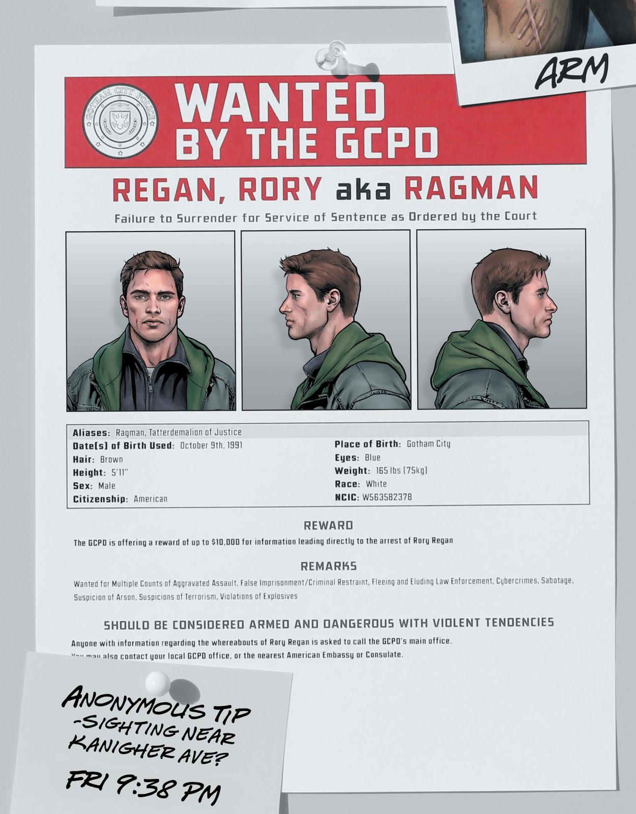 Rory Regan (Criminal Sanity)