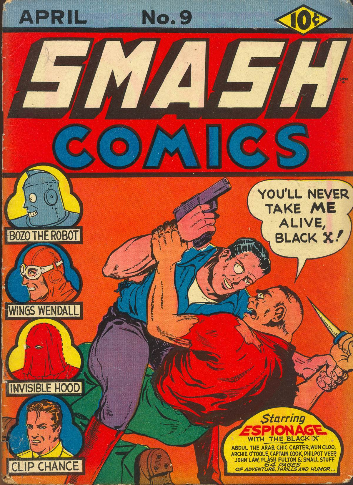 Smash Comics Vol 1 9