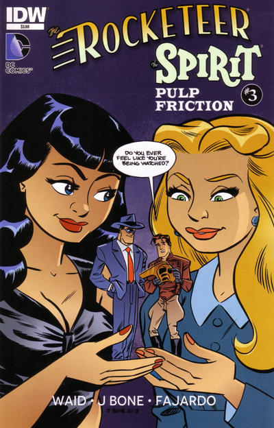 The Rocketeer/The Spirit: Pulp Friction Vol 1 3
