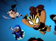 Bushido Herald Pantha New Teen Titans Shorts 001