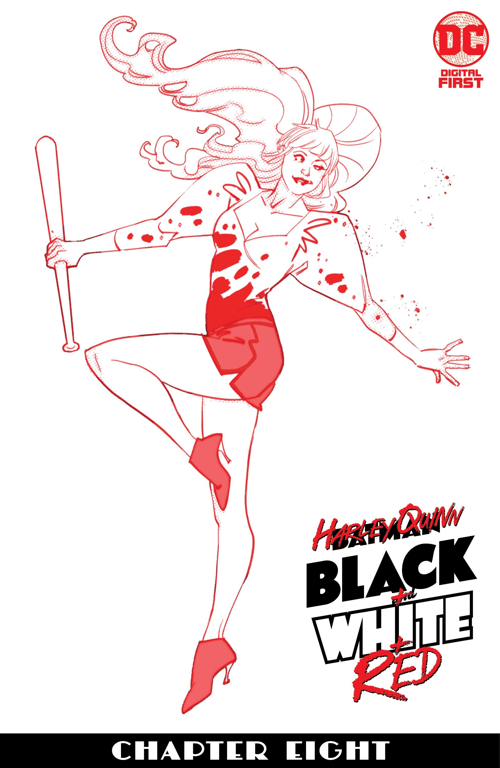 Harley Quinn: Black + White + Red Vol 1 8 (Digital)