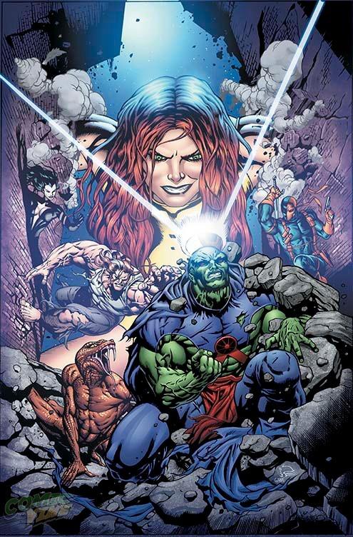 Justice League of America Vol 3 10 Textless Variant.jpg
