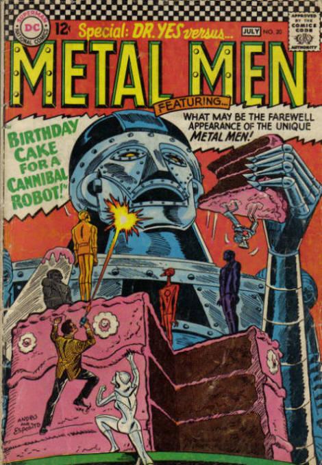 Metal Men Vol 1 20
