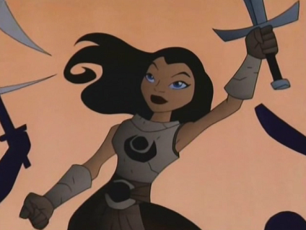 Sarasim (Teen Titans TV Series)