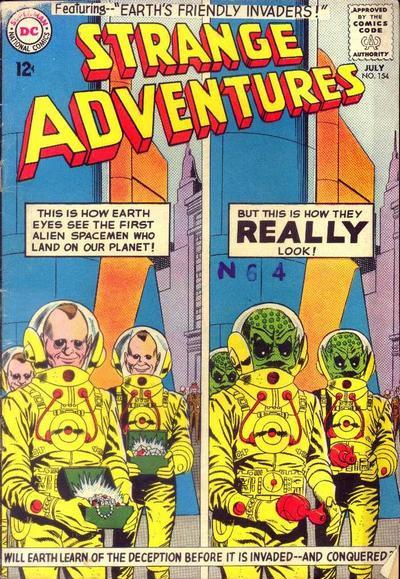 Strange Adventures Vol 1 154