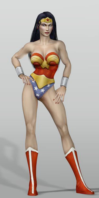 Diana of Themyscira (Justice League Heroes)