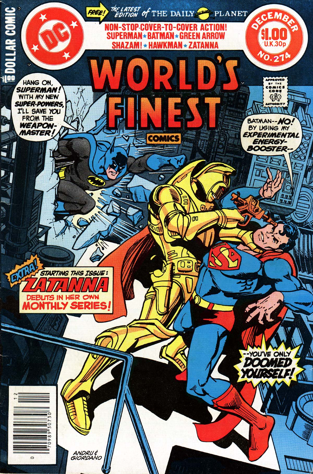 World's Finest Vol 1 274