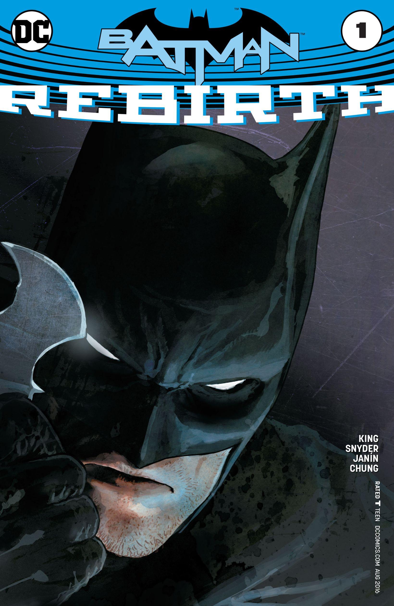 Batman: Rebirth Vol 1 1
