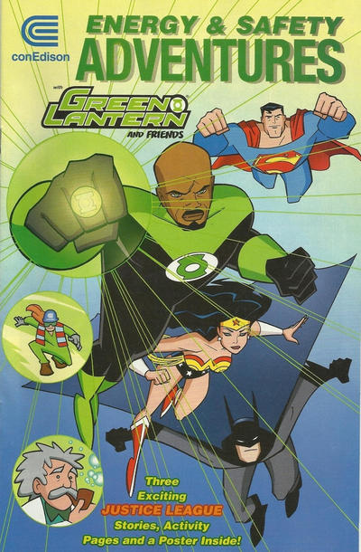 Energy and Safety Adventures with Green Lantern and Friends