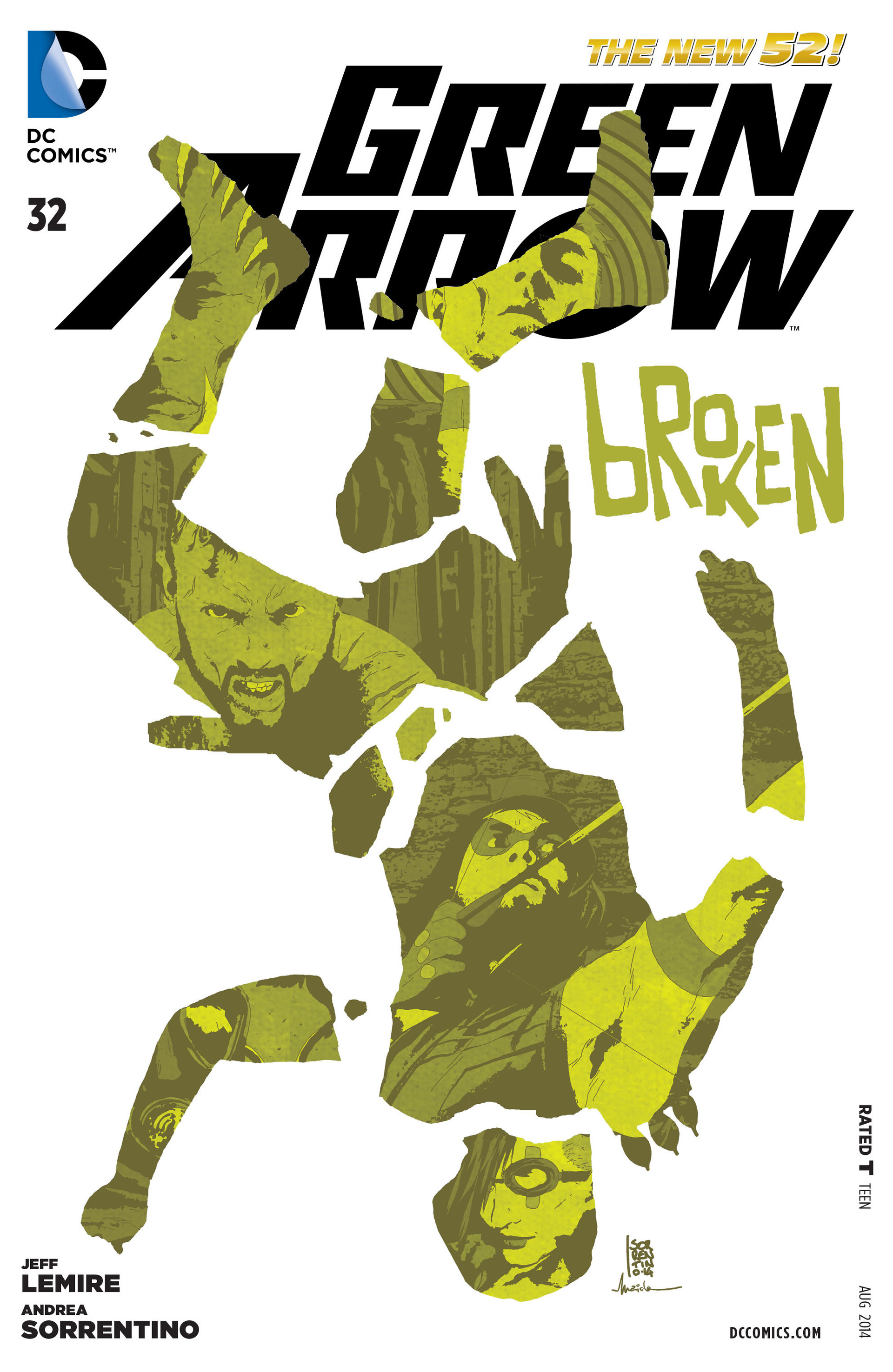 Green Arrow Vol 5 32