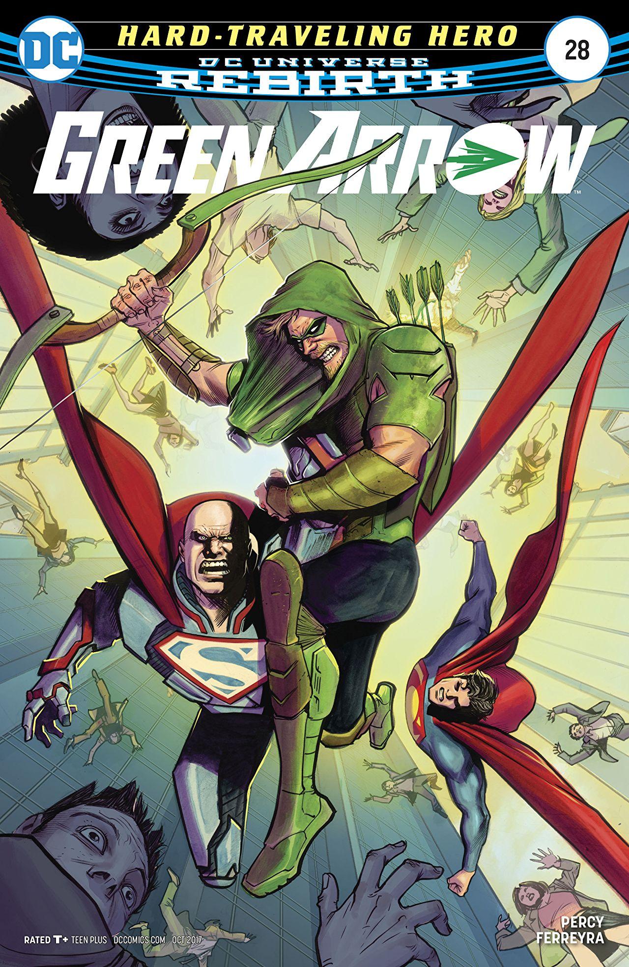 6 #28 Green Arrow Vol 2011-2016