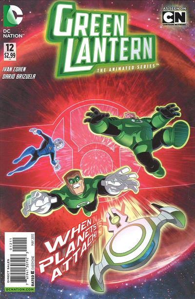 Green Lantern: The Animated Series Vol 1 12
