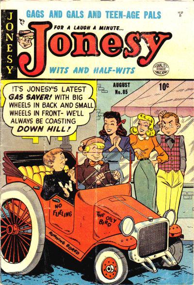 Jonesy Vol 1