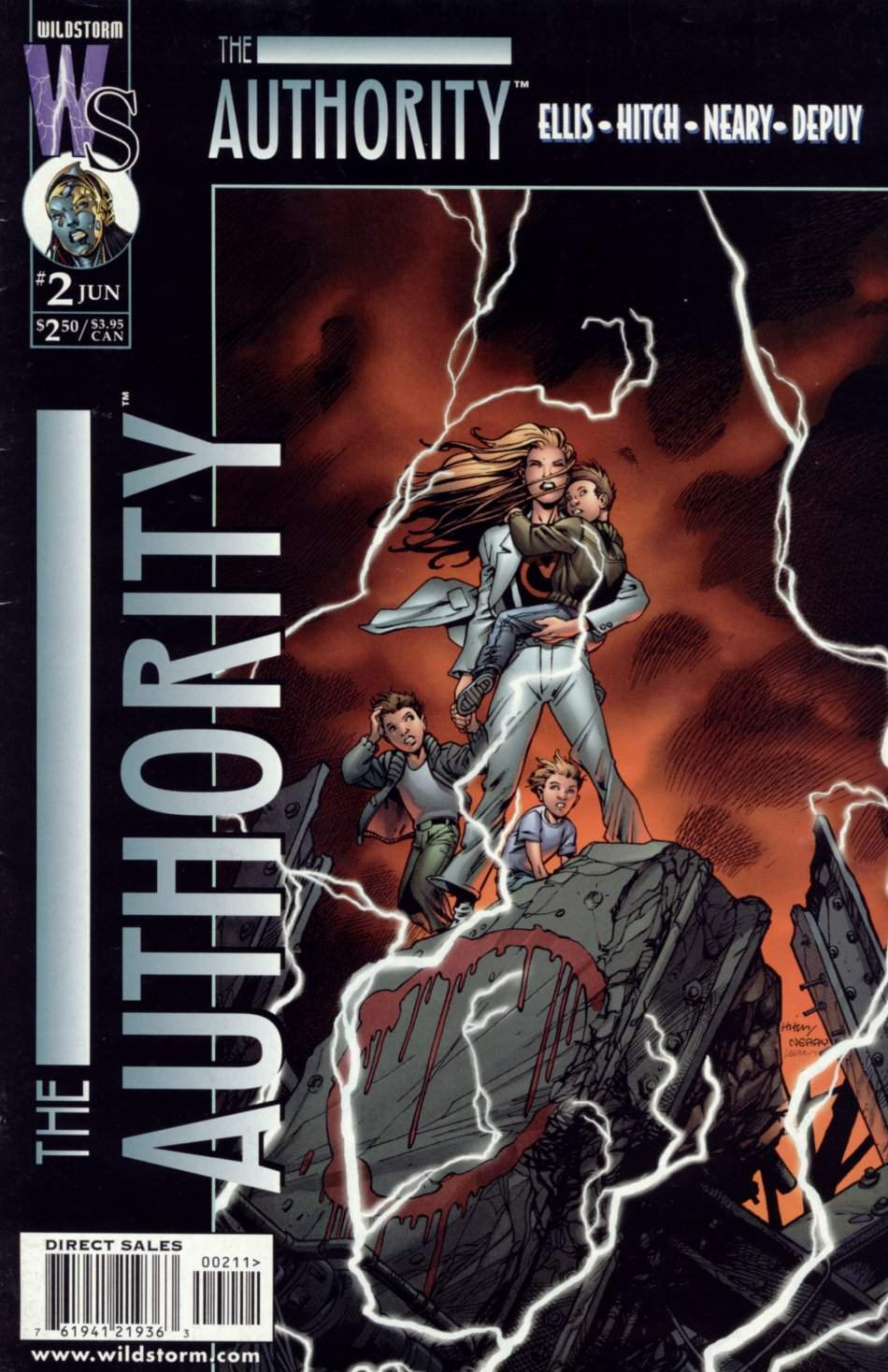 The Authority Vol 1 2