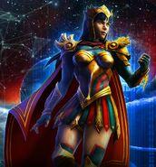 Yara Flor DC Legends 0001
