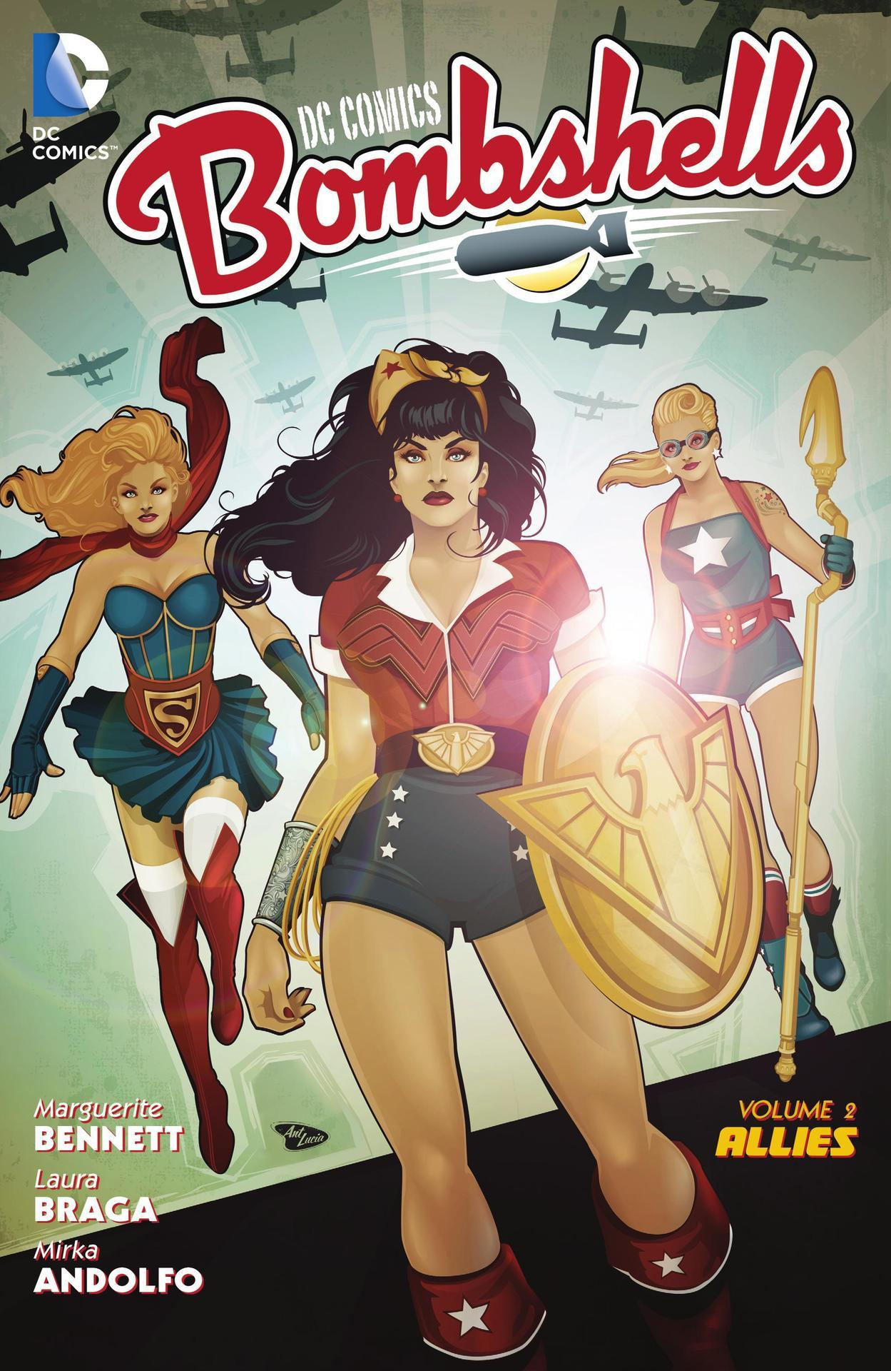 DC Comics Bombshells: Allies (Collected)