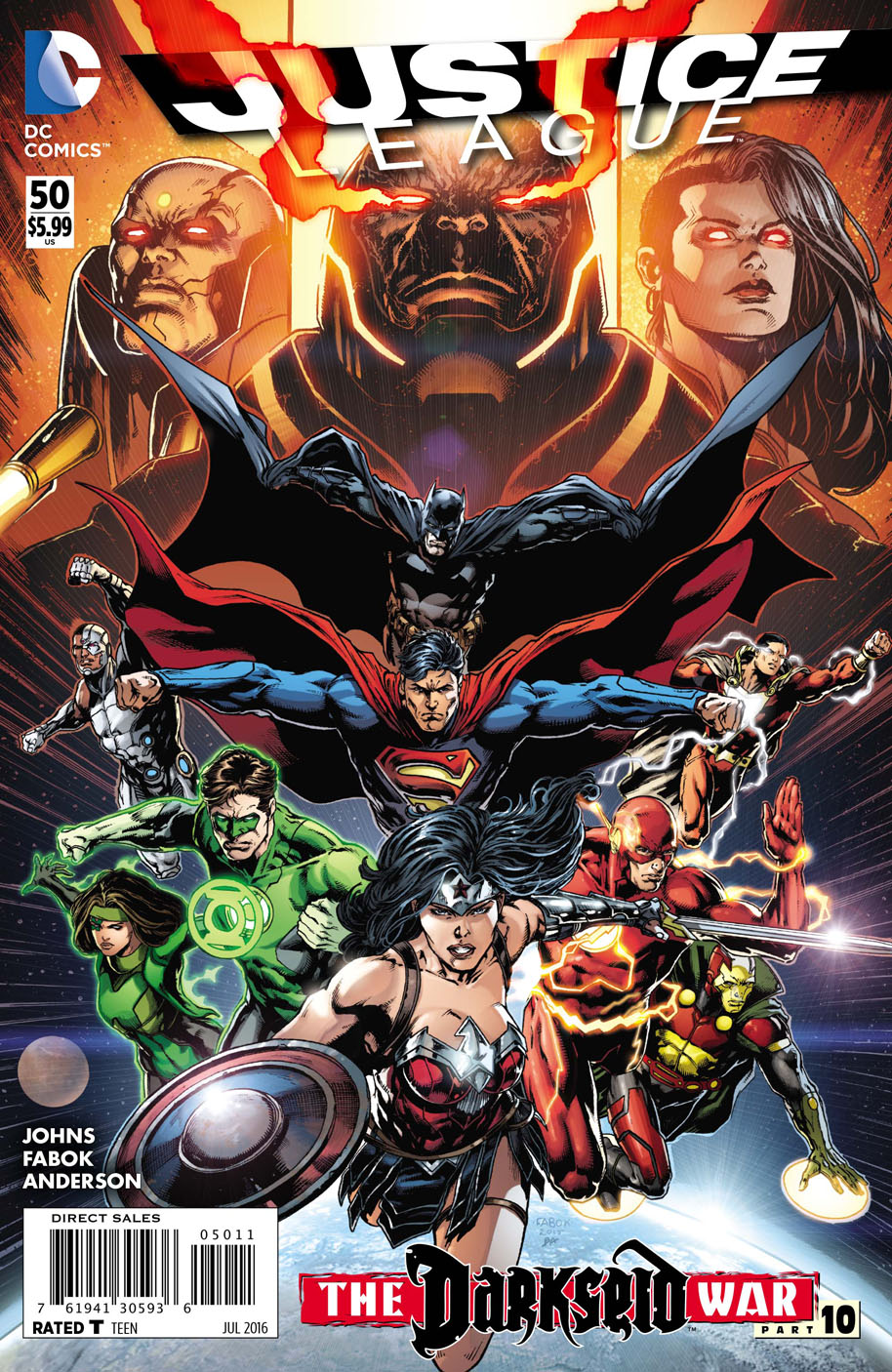 Justice League Vol 2 50
