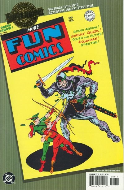 Millennium Edition: More Fun Comics Vol 1 101