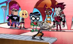 Titans New Teen Titans Shorts Turn Back the Clock 001.PNG