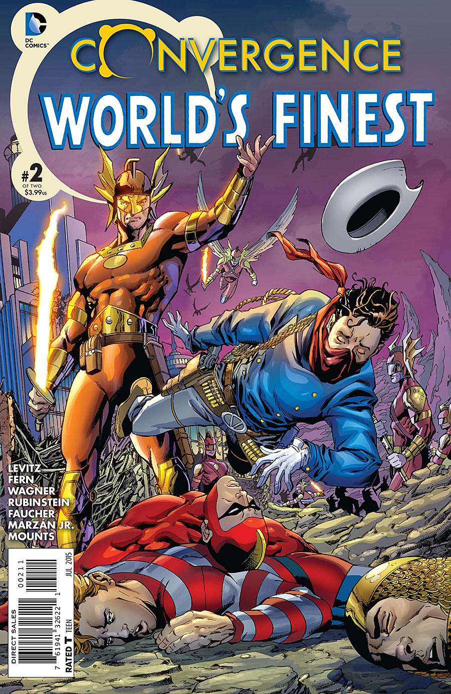 Convergence: World's Finest Comics Vol 1 2
